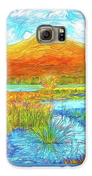 From Sky To Mountain To Stream - Boulder County Colorado Galaxy S6 Case by Joel Bruce Wallach