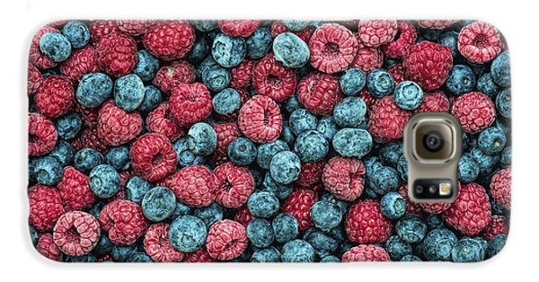 Frozen Berries Galaxy S6 Case by Tim Gainey