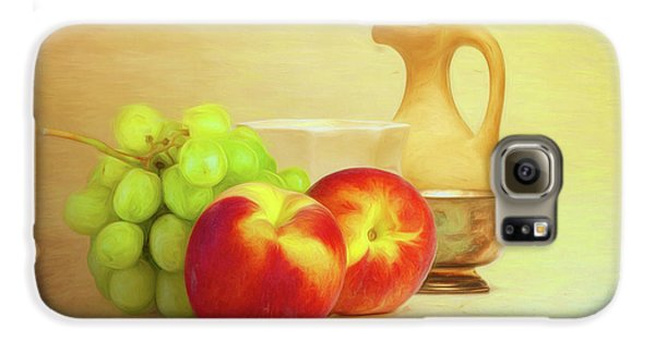 Fruit And Dishware Still Life Galaxy S6 Case