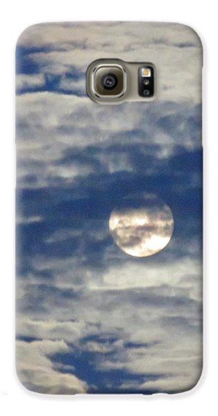 Full Moon In Gemini With Clouds Galaxy S6 Case