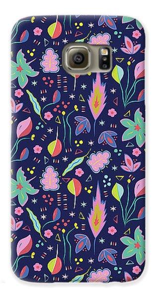 Fun In The Garden Galaxy S6 Case by Elizabeth Tuck