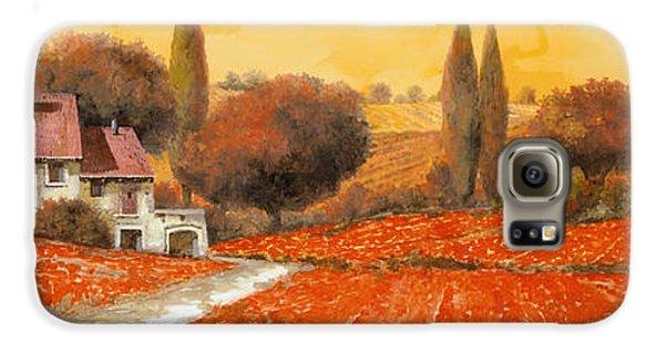 Landscape Galaxy S6 Case - fuoco di Toscana by Guido Borelli