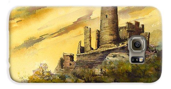 Castle Galaxy S6 Case - Furstenburg On The Rhine by Sam Sidders