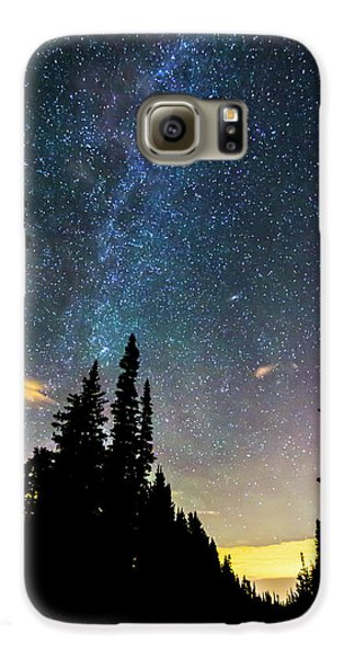 Galaxy S6 Case featuring the photograph  Galaxy Rising by James BO Insogna