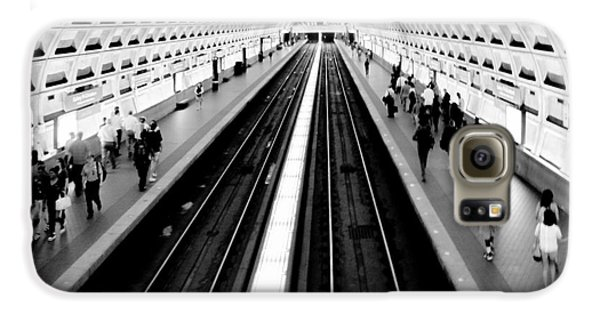 Train Galaxy S6 Case - Gallery Place Metro by Thomas Marchessault