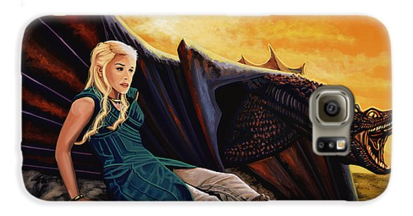 Game Of Thrones Painting Galaxy S6 Case