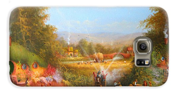 Gandalf's Return Fireworks In The Shire. Galaxy S6 Case by Joe  Gilronan