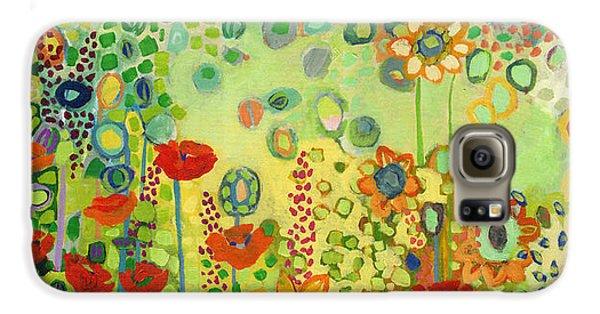 Sunflower Galaxy S6 Case - Garden Poetry by Jennifer Lommers