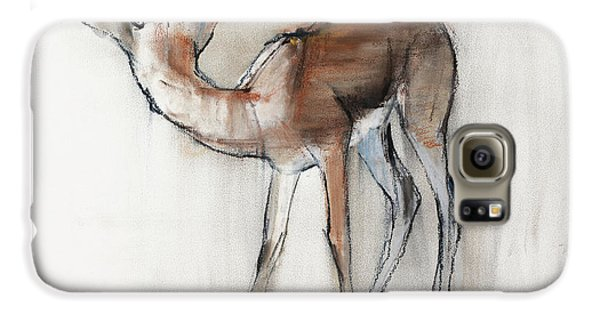 Gazelle Fawn  Arabian Gazelle Galaxy S6 Case by Mark Adlington