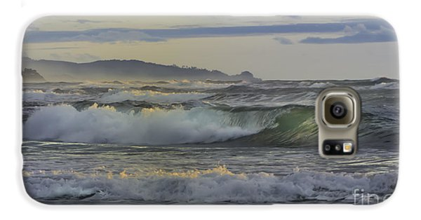 Gazing At The Ocean Surf Galaxy S6 Case