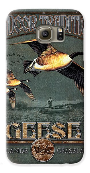 Geese Traditions Galaxy S6 Case by JQ Licensing