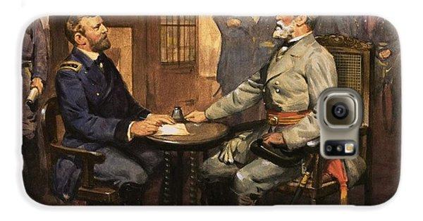 General Grant Meets Robert E Lee  Galaxy S6 Case