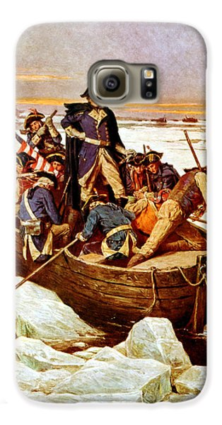 General Washington Crossing The Delaware River Galaxy S6 Case