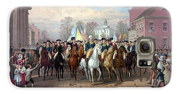 General Washington Enters New York Galaxy S6 Case by War Is Hell Store