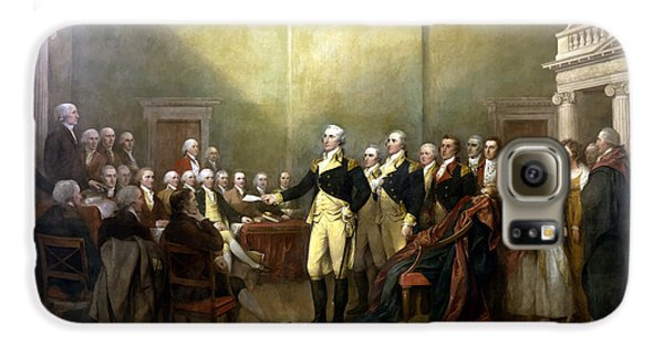 General Washington Resigning His Commission Galaxy S6 Case