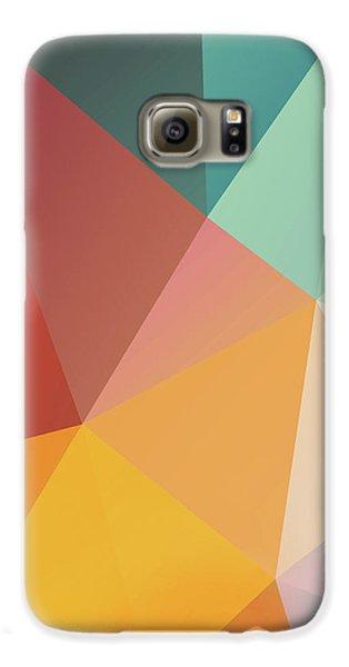 Galaxy S6 Case - Geometric Xxix by Ultra Pop