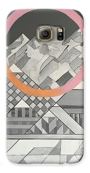 Geometry's Mountain Galaxy S6 Case by Sara Cannon