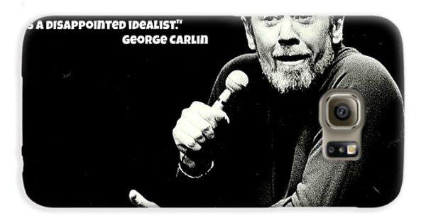 George Carlin Art  Galaxy S6 Case by Pd