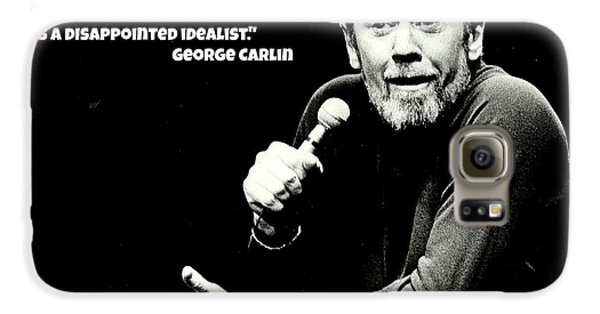 George Carlin Art  Galaxy S6 Case