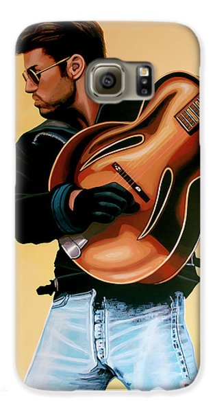 George Michael Painting Galaxy S6 Case