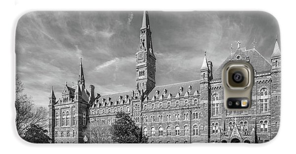 Georgetown University Healy Hall Galaxy S6 Case by University Icons