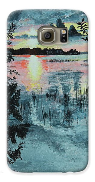 Georgian Bay Sunset Galaxy S6 Case