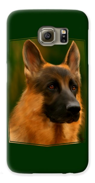 German Shepherd Galaxy S6 Case