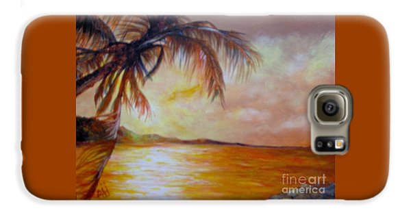 Galaxy S6 Case featuring the painting Getaway by Saundra Johnson