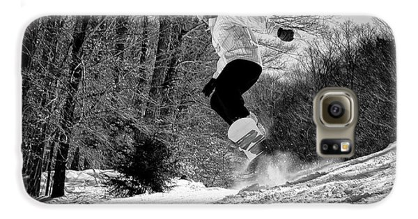 Galaxy S6 Case featuring the photograph Getting Air On The Snowboard by David Patterson