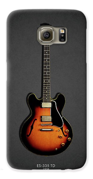 Rock And Roll Galaxy S6 Case - Gibson Es 335 1959 by Mark Rogan