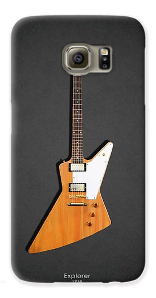 Guitar Galaxy S6 Case - Gibson Explorer 1958 by Mark Rogan