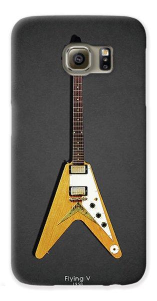 Guitar Galaxy S6 Case - Gibson Flying V by Mark Rogan