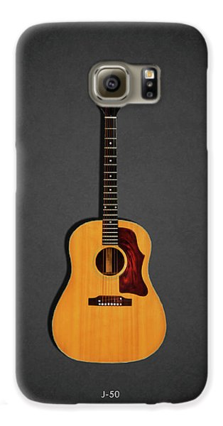 Jazz Galaxy S6 Case - Gibson J-50 1967 by Mark Rogan