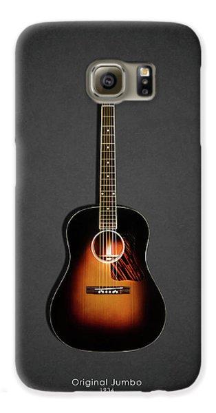 Guitar Galaxy S6 Case - Gibson Original Jumbo 1934 by Mark Rogan