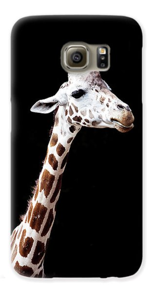Giraffe Galaxy S6 Case by Lauren Mancke
