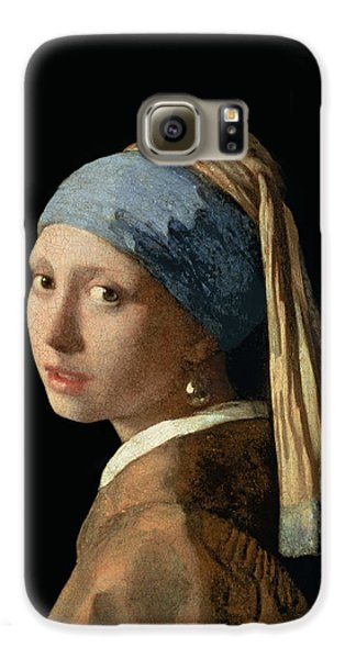 Portraits Galaxy S6 Case - Girl With A Pearl Earring by Jan Vermeer