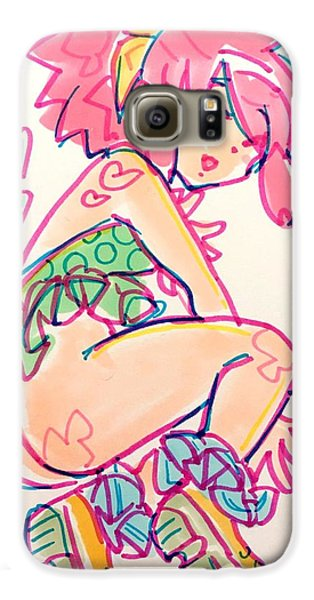 Girl01 Galaxy S6 Case