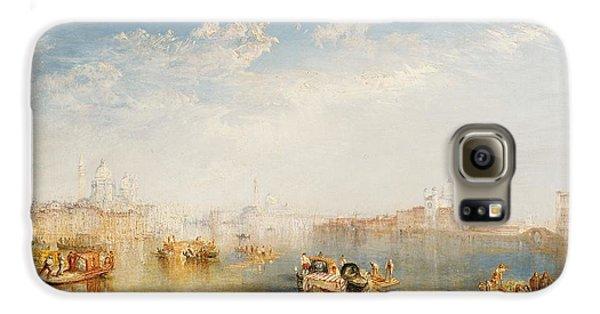 Boat Galaxy S6 Case - Giudecca La Donna Della Salute And San Giorgio  by Joseph Mallord William Turner
