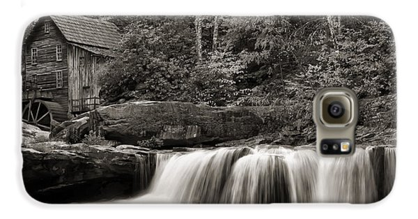 Glade Creek Grist Mill Monochrome Galaxy S6 Case