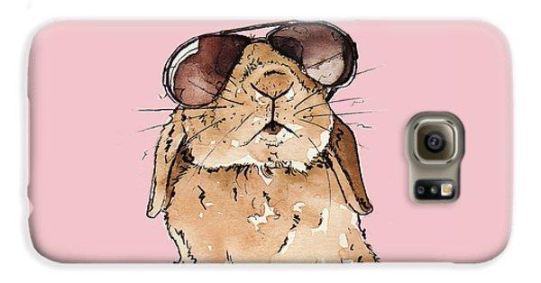 Glamorous Rabbit Galaxy S6 Case by Katrina Davis
