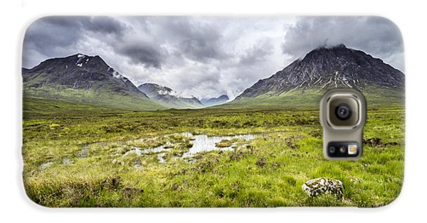 Galaxy S6 Case featuring the photograph Glencoe by Jeremy Lavender Photography