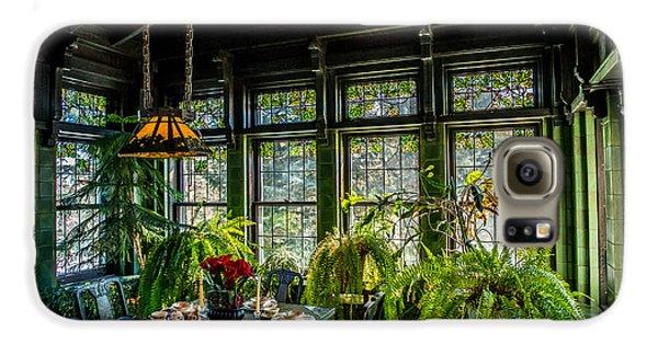 Glensheen Mansion Breakfast Room Galaxy S6 Case by Paul Freidlund