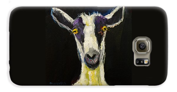 Mammals Galaxy S6 Case - Goat Gloat by Diane Whitehead