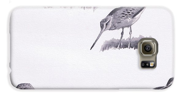 Godwits And Green Sandpipers Galaxy S6 Case