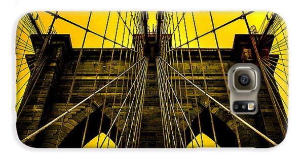 Brooklyn Bridge Galaxy S6 Case - Golden Arches by Az Jackson