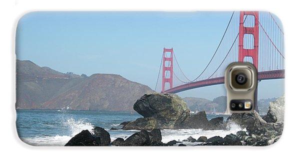 Golden Gate Beach Galaxy S6 Case