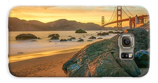 Golden Gate Sunset Galaxy S6 Case