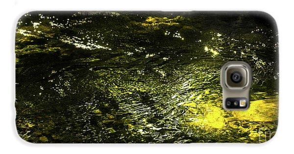 Golden Glow Galaxy S6 Case by Tatsuya Atarashi