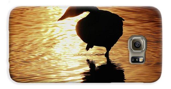 Golden Swan Galaxy S6 Case