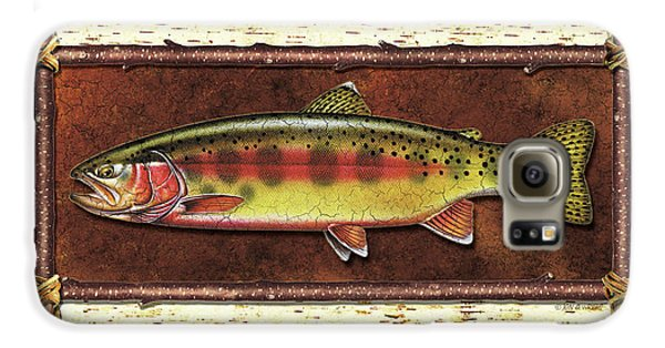 Golden Trout Lodge Galaxy S6 Case by JQ Licensing
